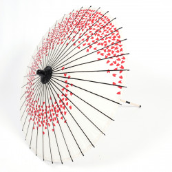 japanese white umbrella cherry blossoms WAGASA SHIROI SAKURA