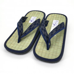 Japanese sandals zori rice straw Goza, ARROW patterns