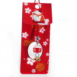 Japanese cat decorative hook for phone, MANEKINEKO,