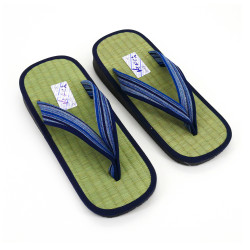 Japanese sandals zori rice straw Goza, LINES 2527