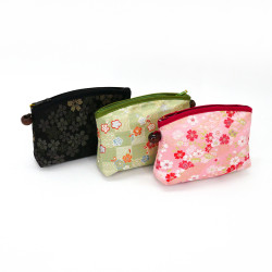 japanese makeup bag floral patterns 16,5x12x4,5cm KINRAN