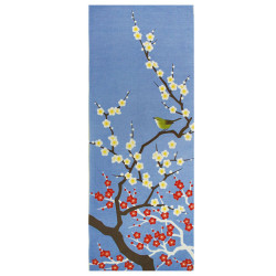 Japanese cotton towel TENUGUI, SAKURA Naichingēru