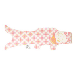 koi carp-shaped windsock, natural