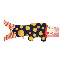 koi carp-shaped windsock, KOKORO