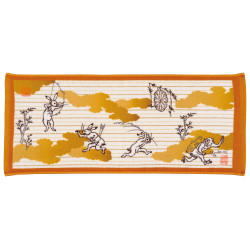 Hand towel, FACE TOWEL YAMADERA, hare and frog
