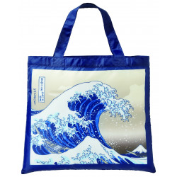 Eco-friendly polyester bag, ECO BAG NAMIURA WALK, wave