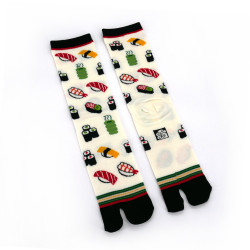 Japanese tabi cotton socks, SUSHI