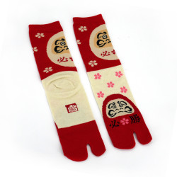 Japanese tabi cotton socks, DARUMA