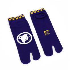 Japanese tabi cotton socks, CHIDORI