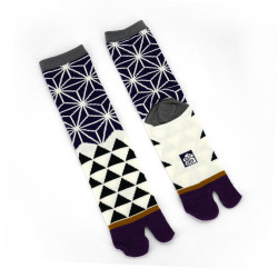 Japanese tabi cotton socks, ASANOHA