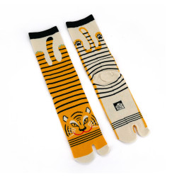Japanese tabi cotton socks, TORA