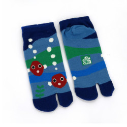 Japanese tabi cotton socks, KINGYO