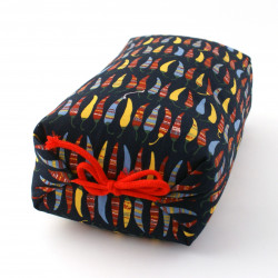 Japanese cushion stuffed with buckwheat pods, PIMAN, peppers